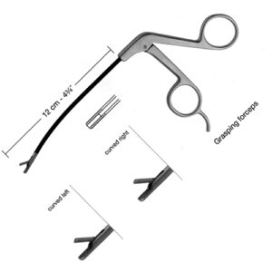 Endoscopic Face Lifting Grasping Forceps,12cm